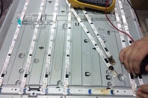 Ремонт подсветки телевизора Samsung UE40F6500AB