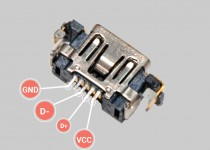 Замена разъёма зарядки PS Vita на разъём от PSP