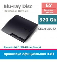Консоль PlayStation 3 Slim 320Gb [CECH-3008A]
