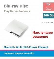 Консоль PlayStation 3 Slim 320Gb White [CECH-3008B]