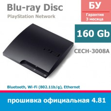 Sony PlayStation 3 Slim 160Gb [CECH-3008A]