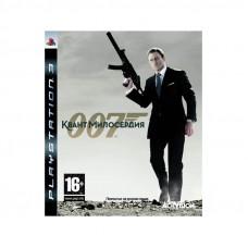 007: Квант Милосердия PlayStation 3