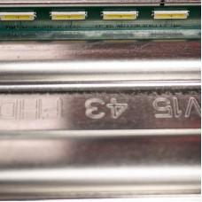 """LED подсветка LG 43"""" V15 ART3 FHD  Rev1.1 L-Type 6922L-0145A [39 Led]"""