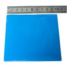 Терморезинка 100х100 мм, толщина 1 мм