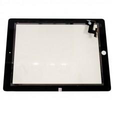 Сенсорное стекло (тачскрин) Apple iPad 2, чёрный