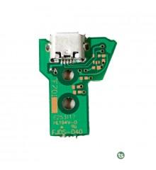 Плата зарядки / синхронизации джойстика Sony PlayStation 4 (Green, JDS-040, 12Pin)