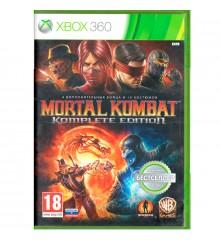 Игровой диск Xbox 360 Mortal Kombat Komplete Edition