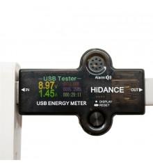 USB тестер заряда АКБ HiDANCE J7-H Bluetooth